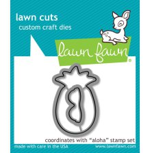 Lawn Cuts Custom Craft Die - Aloha