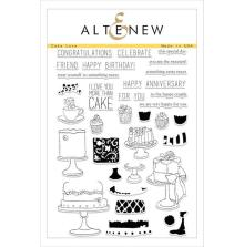 Altenew Layering Clear Stamps 6X8 - Cake Love