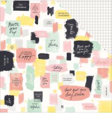 Kaisercraft Daydreamer Double-Sided Cardstock 12X12 - Playful