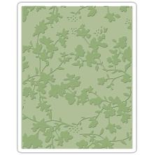 Tim Holtz Sizzix Texture Fades Embossing Folder - Floral