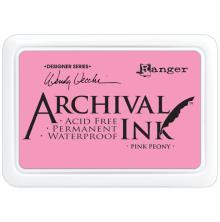 Ranger Ink Archival Inkpad - Pink Peony