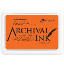 Ranger Ink Archival Inkpad - Tiger Lily