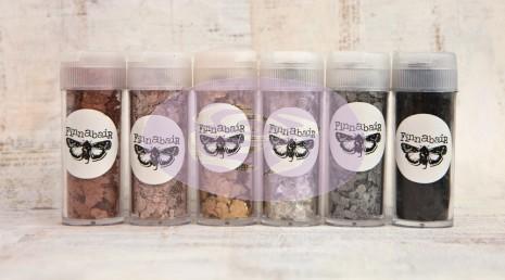 Prima Finnabair Art Ingredients Mica Flakes 6/Pkg
