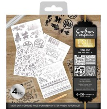 Crafters Companion Foil Transfers - Ring out Those Bells