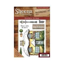 Sheena Douglass Mockingbird Hill A5 Rubber Stamp - Bluebell Cottage
