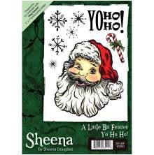 Sheena Douglass A6 Unmounted Rubber Stamp - Yo Ho Ho