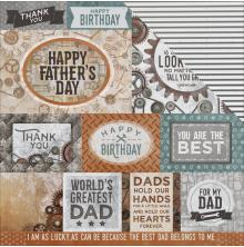 Kaisercraft Factory 42 Double-Sided Cardstock 12X12 - Workshop