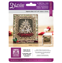 Crafters Companion Diesire 4.1x 5 Create a Card - Sparkling Spruce