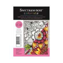 Spectrum Noir Colorista A6 Rubber Stamp - Background 1