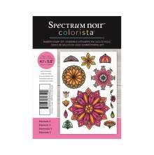 Spectrum Noir Colorista A6 Rubber Stamp - Elements 3