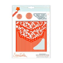 Tonic Studios Essentials Idyllics Embossingfolder & Die Set - Entwined Hearts 1599E