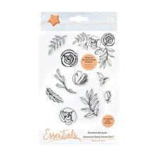 Tonic Studios Essentials Bunched Bouquet - Autumnal Sprig Stamp Set 1 1363E