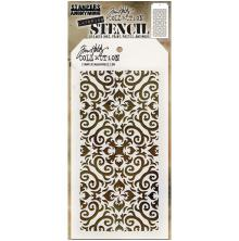 Tim Holtz Layered Stencil 4.125X8.5 - Flames