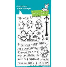 Lawn Fawn Clear Stamps 4X6 - Here We Go A-Waddling