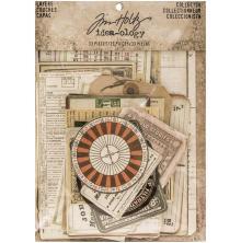 Tim Holtz Idea-0logy Layers Cards 33/Pkg