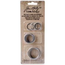 Tim Holtz Idea-0logy Tag Press Rings Assorted 15/Pkg