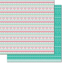 Lawn Fawn Knit Picky Cardstock 12X12 - Tea Cozy