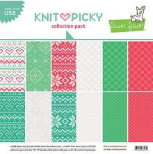 Lawn Fawn Collection Pack 12X12 12/Pkg - Knit Picky