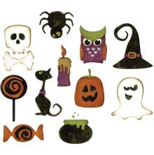 Tim Holtz Sizzix Thinlits Dies 11/Pkg - Mini Halloween Things