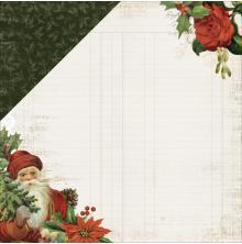 Kaisercraft Letters To Santa Double-Sided Cardstock 12X12 - Dear Santa UTGÅENDE