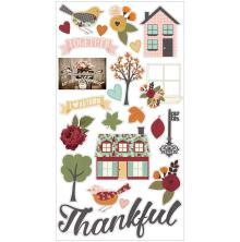 Simple Stories Chipboard Stickers 6X12  - Vintage Blessings