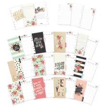 Simple Stories Carpe Diem Personal Planner Inserts - Bloom