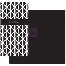 Prima Traveler´s Journal Notebook Refill - Black & White W/Black Paper