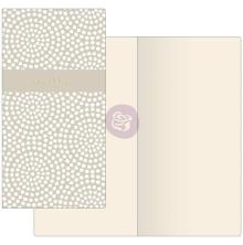 Prima Travelers Journal Notebook Refill - Dotted Circles W/Ivory Paper