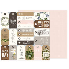 Jen Hadfield Heart Of Home Double-Sided Cardstock 12X12 - From Me To You