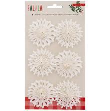 Crate Paper Delights Embellishments 6/Pkg - Fa La La