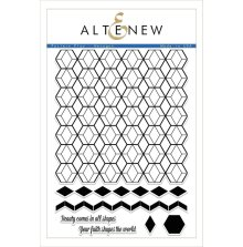 Altenew Clear Stamps 6X8 - Pattern Play Hexagon