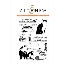 Altenew Clear Stamps 4X6 - Modern cats