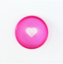 Me & My Big Ideas Planner Mini Expander Discs 9/Pkg - Clear Pink