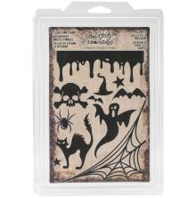 Tim Holtz Idea-0logy Cling Foam Stamps 11/Pkg - Halloween