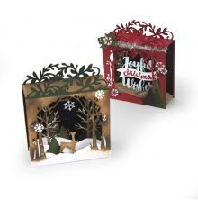 Sizzix Thinlits Dies 19/Pkg - Holiday Shadowbox