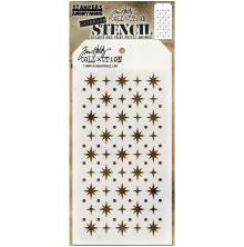 Tim Holtz Layered Stencil 4.125X8.5 - Starry