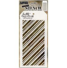 Tim Holtz Layered Stencil 4.125X8.5 - Peppermint