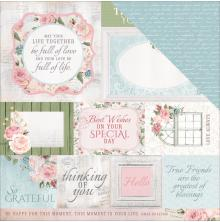 Kaisercraft Rose Avenue Double-Sided Cardstock 12X12 - Irreplaceable