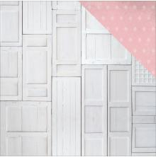 Kaisercraft Rose Avenue Double-Sided Cardstock 12X12 - Wood Panels UTGÅENDE