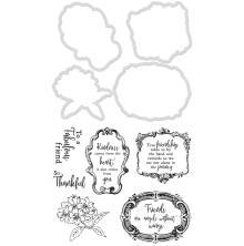 Kaisercraft Dies & Stamps - Frames & Flowers