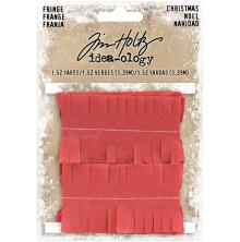 Tim Holtz Idea-Ology Tissue Fringe - Christmas
