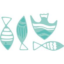 Kaisercraft Decorative Die - School Of Fish