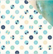 Kaisercraft Summer Splash Double-Sided Cardstock 12X12 - Beach Umbrellas