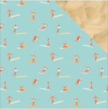 Kaisercraft Summer Splash Double-Sided Cardstock 12X12 - Surfers UTGÅENDE