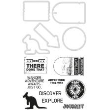 Kaisercraft Dies & Stamps - Adventure