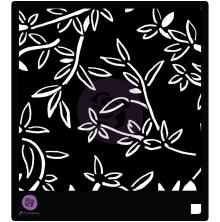 Prima Designer Stencil 6X6 - Bamboo Leaves
