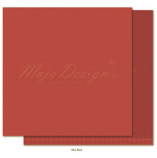 Maja Design Monochromes 12X12 Shades of Winterdays - Red