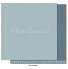 Maja Design Monochromes 12X12 Shades of Winterdays - Dusty teal