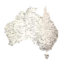Kaisercraft Open Road Die-Cut Cardstock 12X12 - Australia