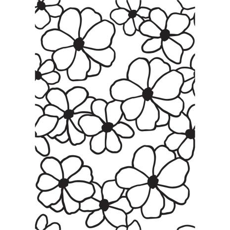 Kaisercraft Embossing Folder 4X6 - Flowers